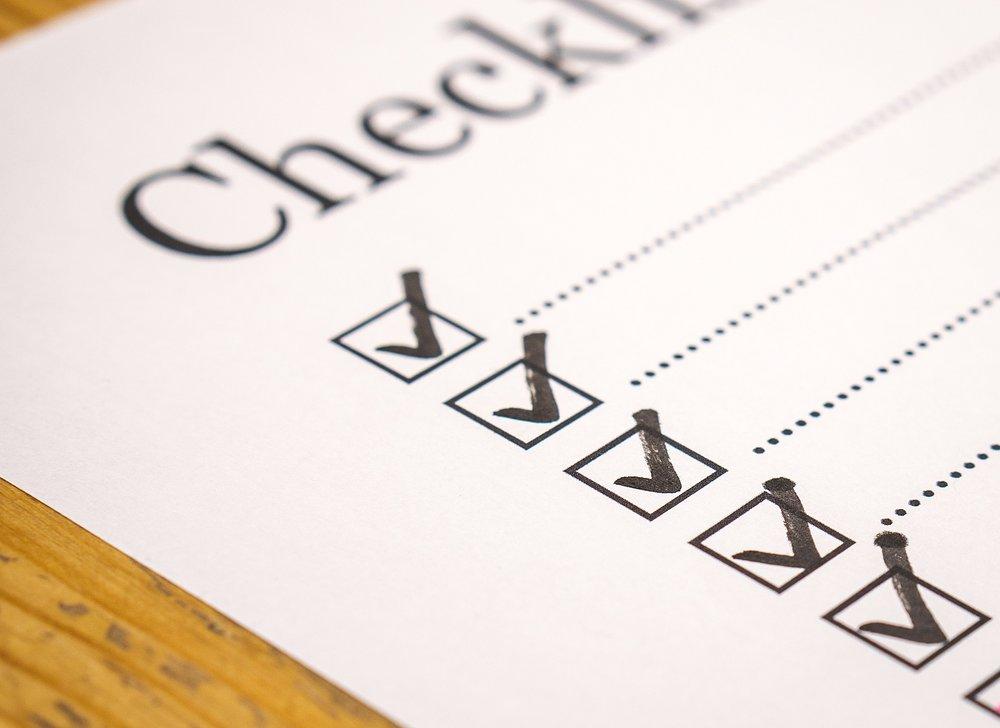 Investigator-CRO Checklist