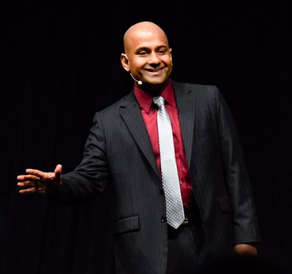 BREAKING DOWN THE SPEECH THAT WON THE 2017 WORLD CHAMPIONSHIP OF PUBLIC SPEAKING An interview with Manoj Vasudevan