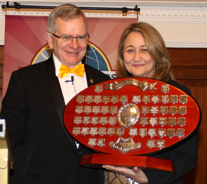 Division Director of the Year - Mitsie Kent, Lachlan Division