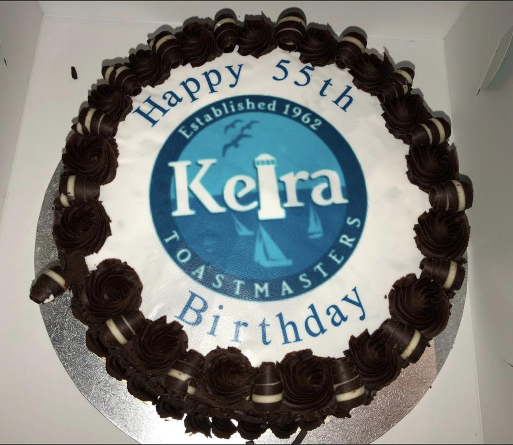 Keira Toastmasters 55th Anniversary - November 2017