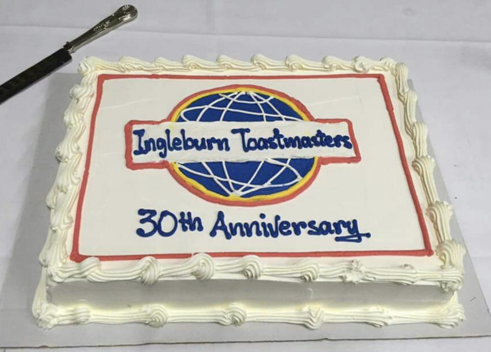 Ingleburn Toastmasters 30th Anniversary - April 2016