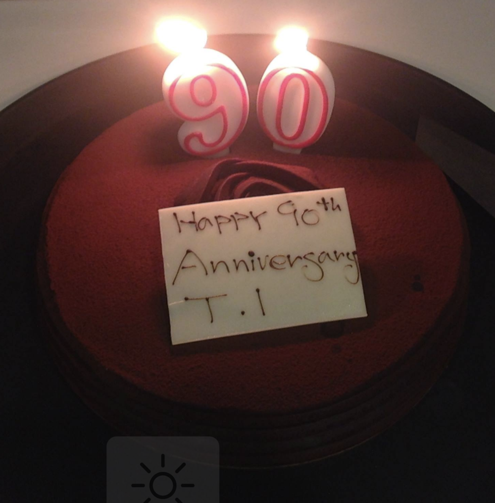 Focus Advanced Toastmasters celebrating TI's 90th Anniversary - October 2014