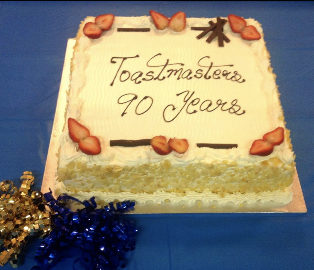 Port Macquarie Toastmasters celebrating TI's 90th Anniversary - October 2014