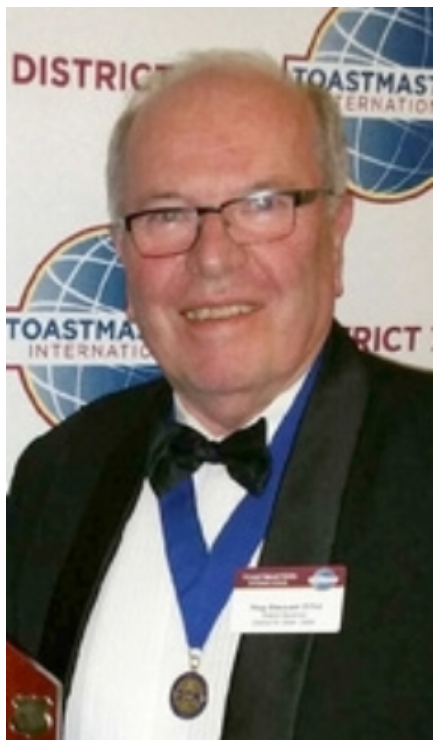 District Governor Reg Stewart