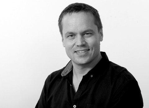 Steinar Ulrichsen   Ansvarlig redaktør i Sandefjord Blad