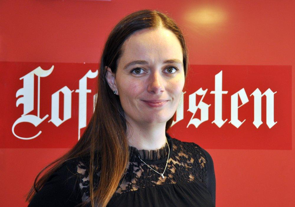 Marianne Steffensen Kielland   Sjefredaktør/adm. dir. i Lofotposten