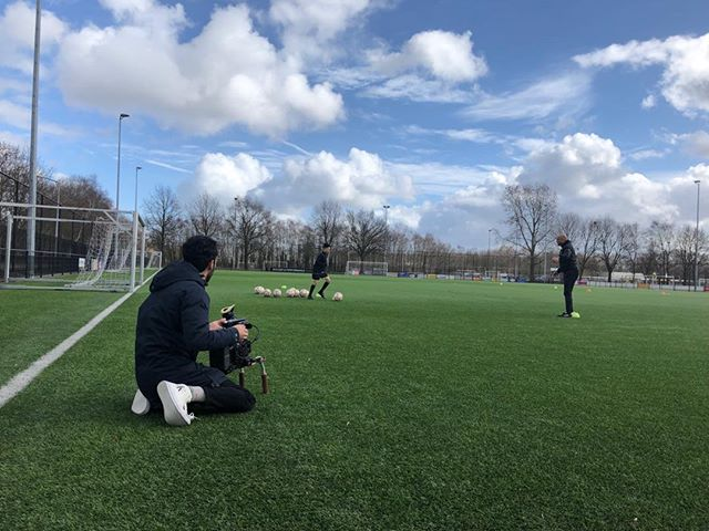 Great day to be on the field ⚽️ #soccerperformanceacademy