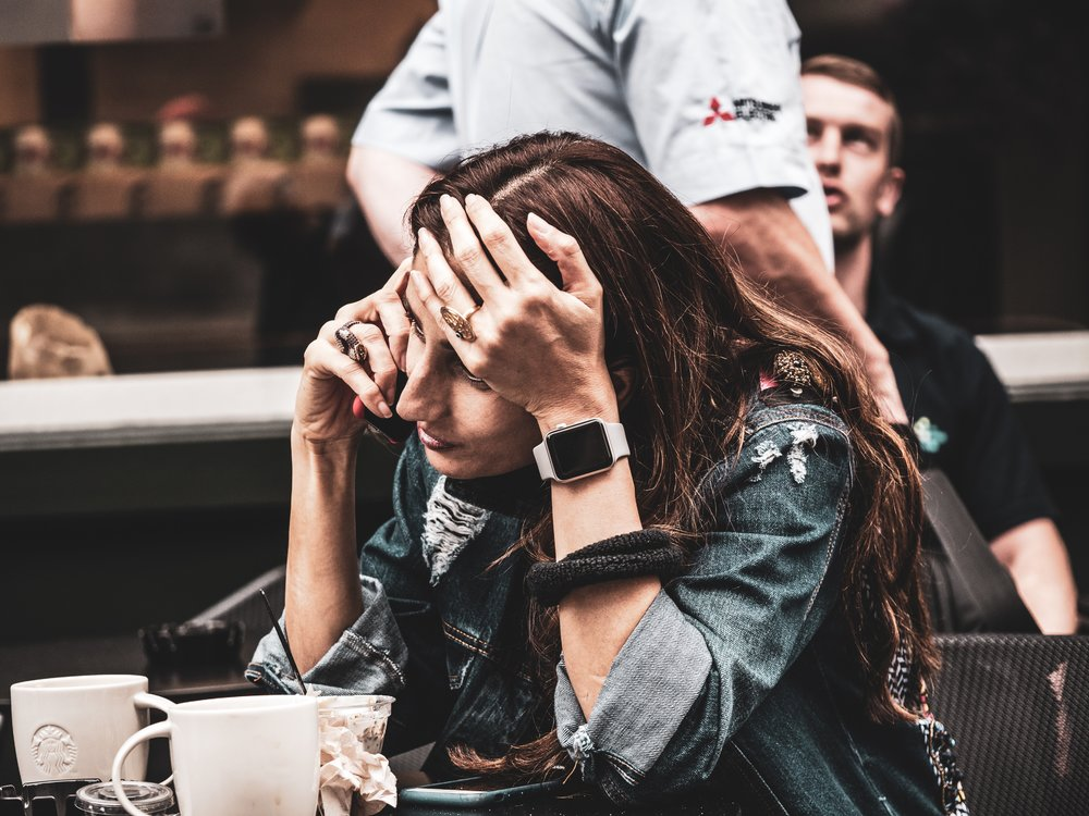 This girl is exactly how you're feeling am I right?! Stressed out, frantically working, but at the same time -aware you're not spending time on the most important things! I see you. I know that game!!