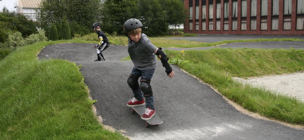 Åndalsnes Ungdomsskole - skate