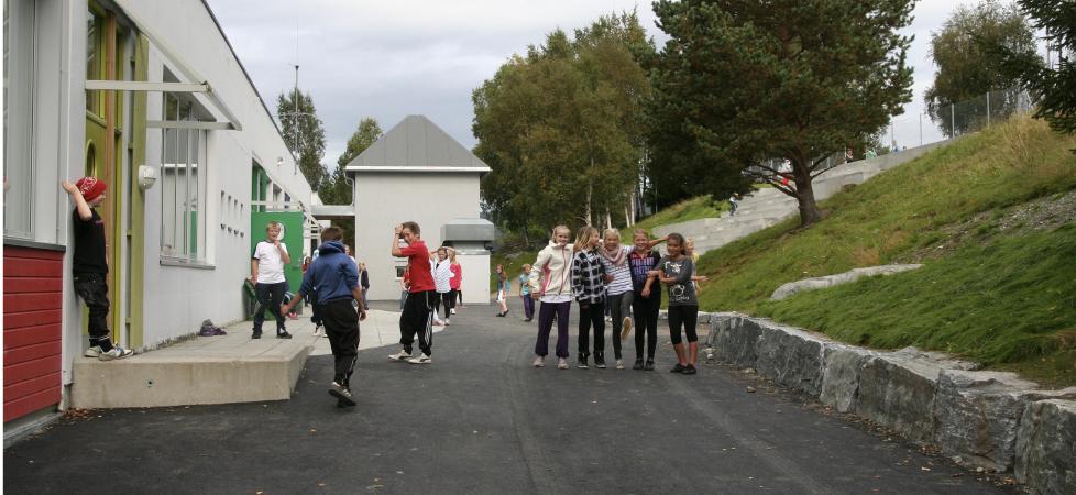 Åfarnes Skole - lekeområde