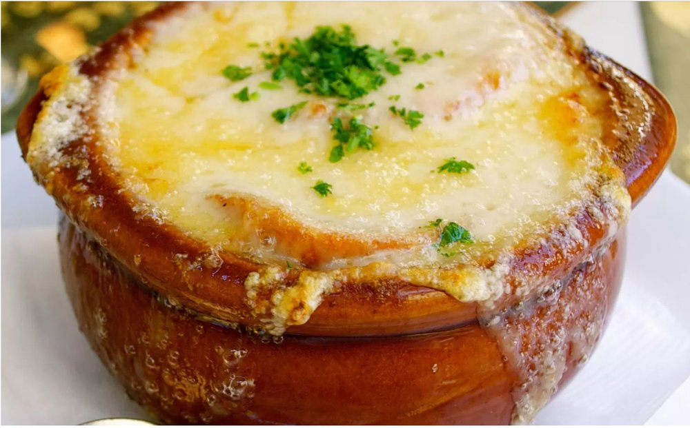 French Onion Soup is and easy and tasty meal on a cold winter day.