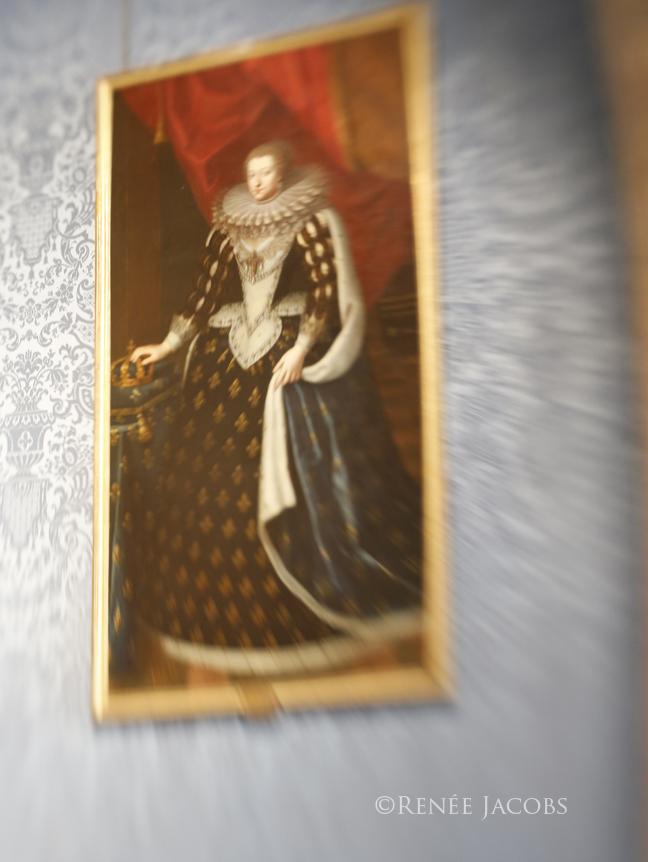 Medici Painting- Chateau Chambord