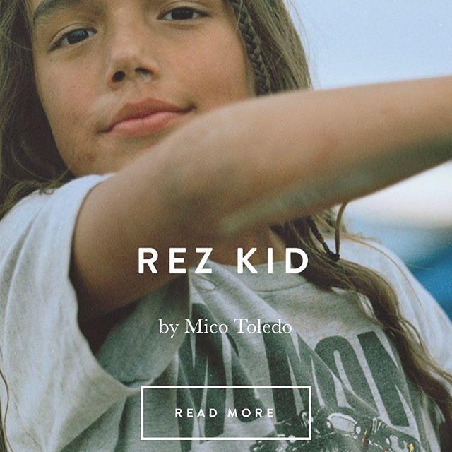 4.0 Rez Kid by Mico Toledo #wbde #standingrock #micotoledo