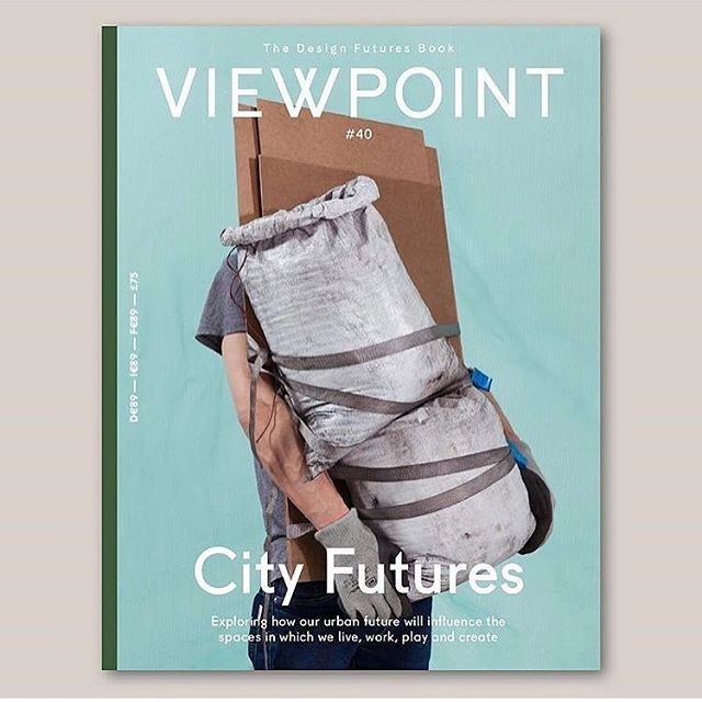 """""""...as our urban environments grow bigger and more crowded, we need to create meaningful spaces for everyday living that are both sustainable and affordable. But how do we best design our spaces of tomorrow? And what defines space in a broader context?"""" @space10_journal Cover of the latest issue of @viewpoint_magazine shot by @lonnekevanderpalen"""