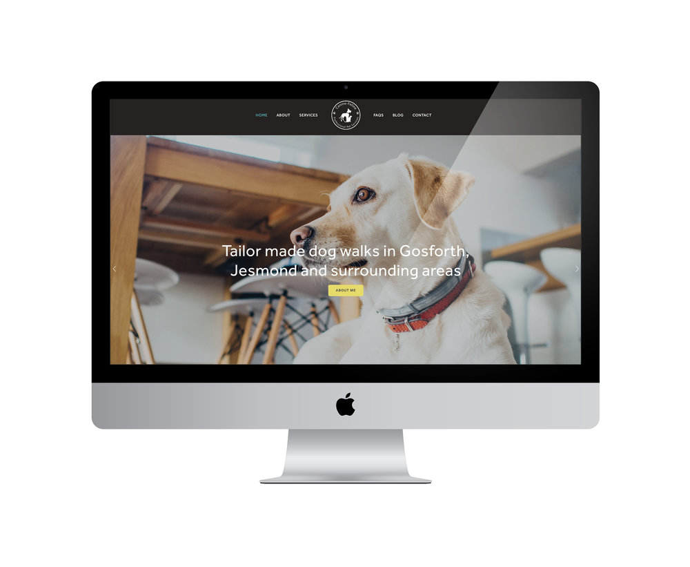 Squarespace for dog walking