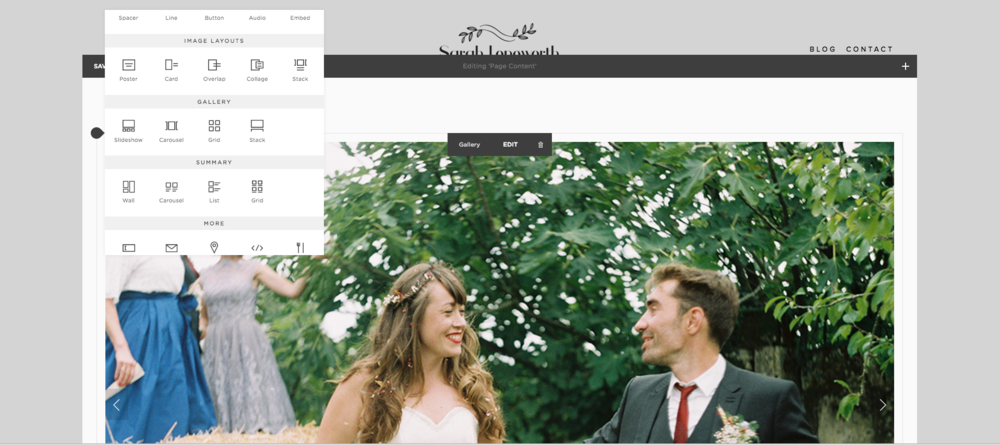 Squarespace for photographers
