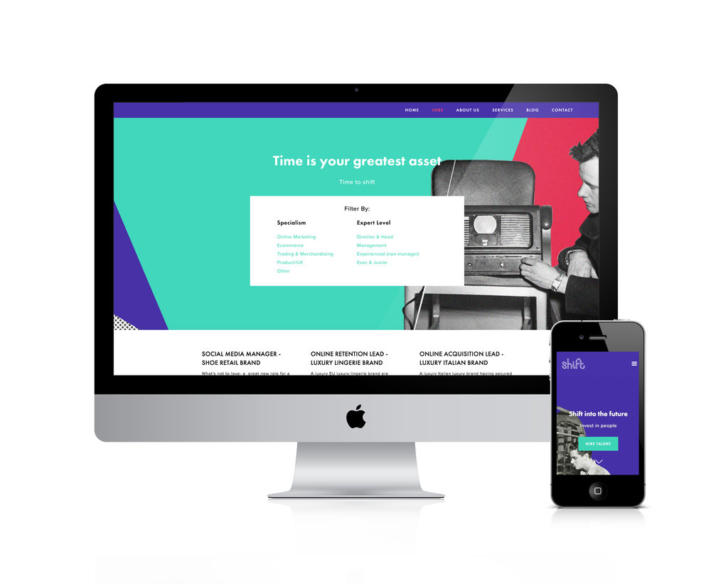 squarespace for e-commerce and digital recruitment