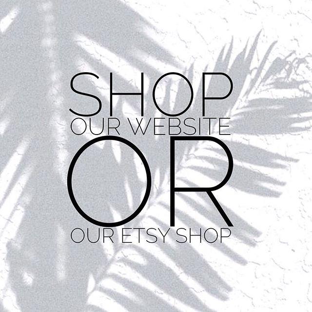 Shop our website link in bio 👆🏼 or find us on Etsy! 🇨🇦