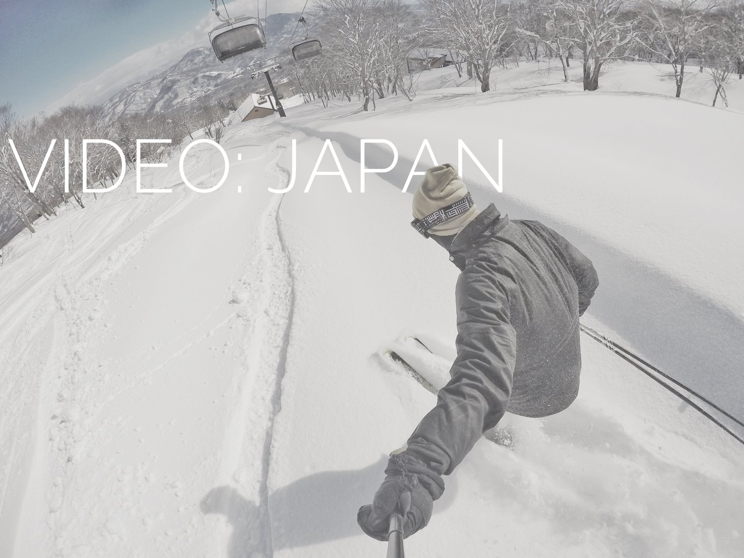 SKIING AND SNOWBOARDING IN JAPAN: TRAVEL VIDEO