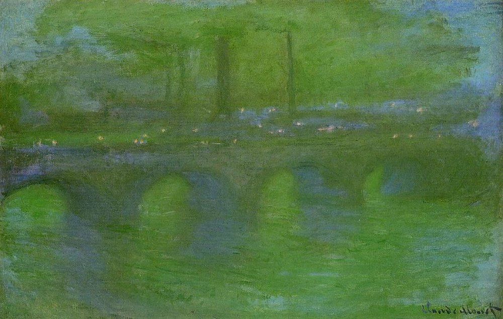 Waterloo Bridge, Dawn, 1901 by Claude Monet