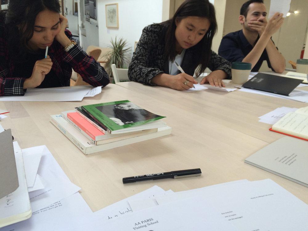 Writing Workshop with Caroline Rabourdin