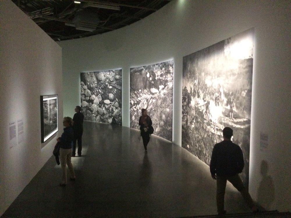 Diorama Exhibition at the Palais de Tokyo   — photo by Caroline Rabourdin