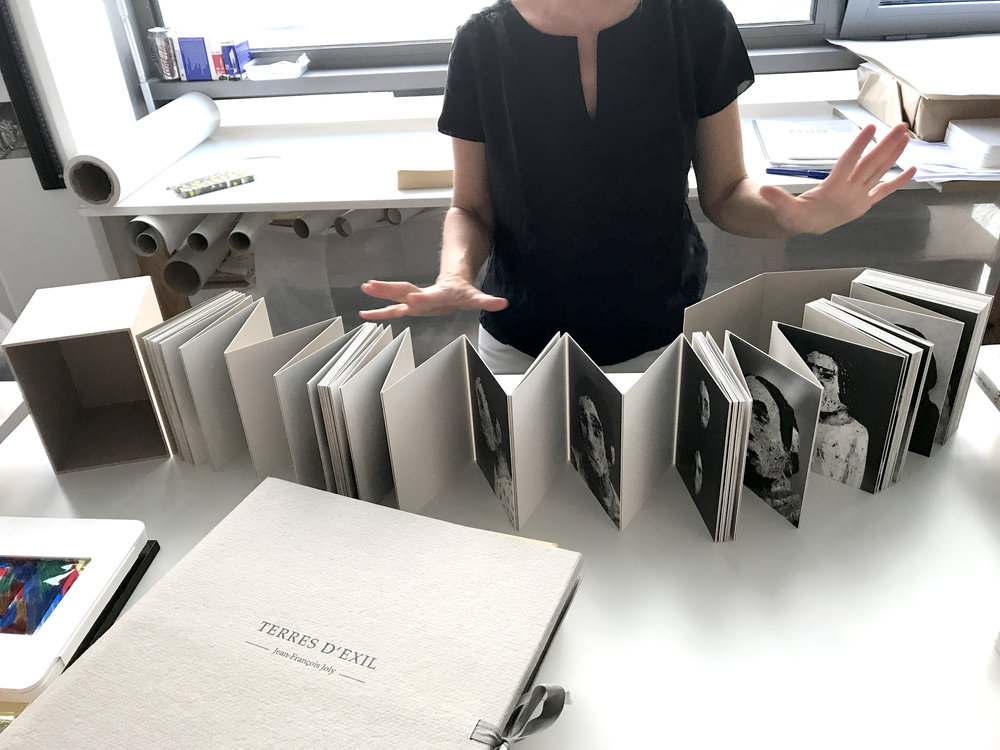 Visit to Laurel Parker Bookbinding Studio  — photo by Sabrina Tan