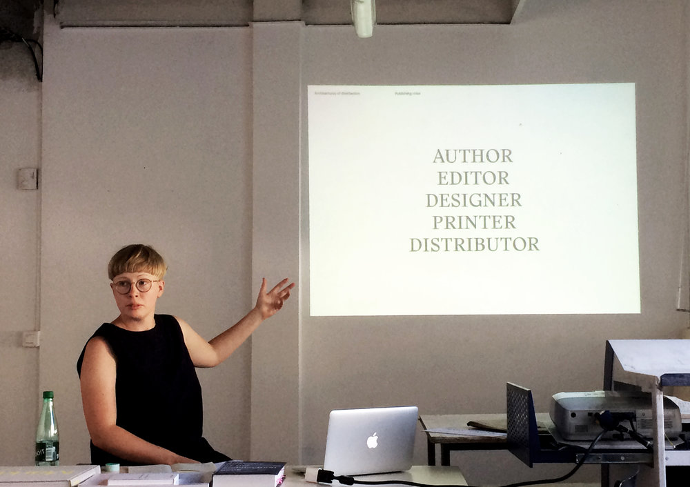 Rosa Nussbaum presentation  — photo by Caroline Rabourdin
