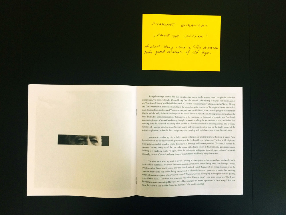 Students' work : Zygmunt Borawski  — photo by Caroline Rabourdin