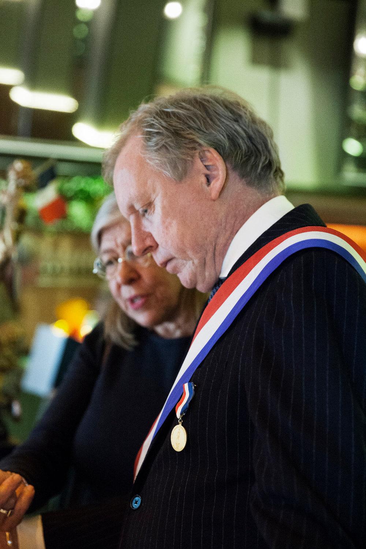 Per Nordlind höll ordning på ceremonien och Birgitta Watz designade Plutos ekodiplom