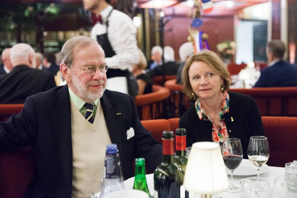 Erik Lallerstedt trivdes tillsammans med Elisabeth Haglund