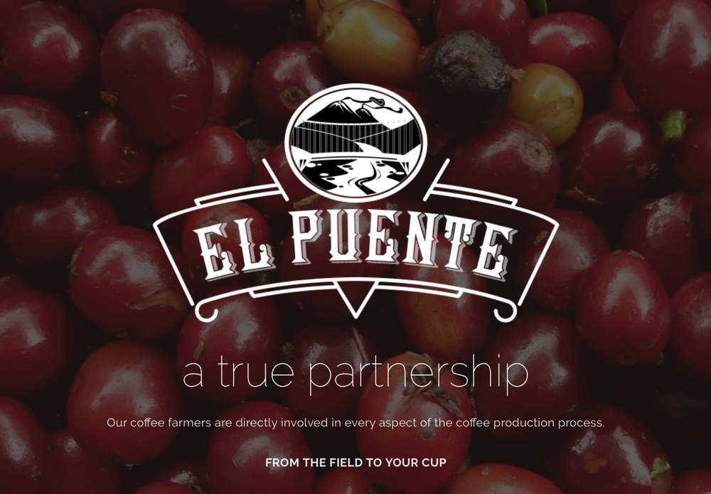WEBSITE: El Puente Coffee