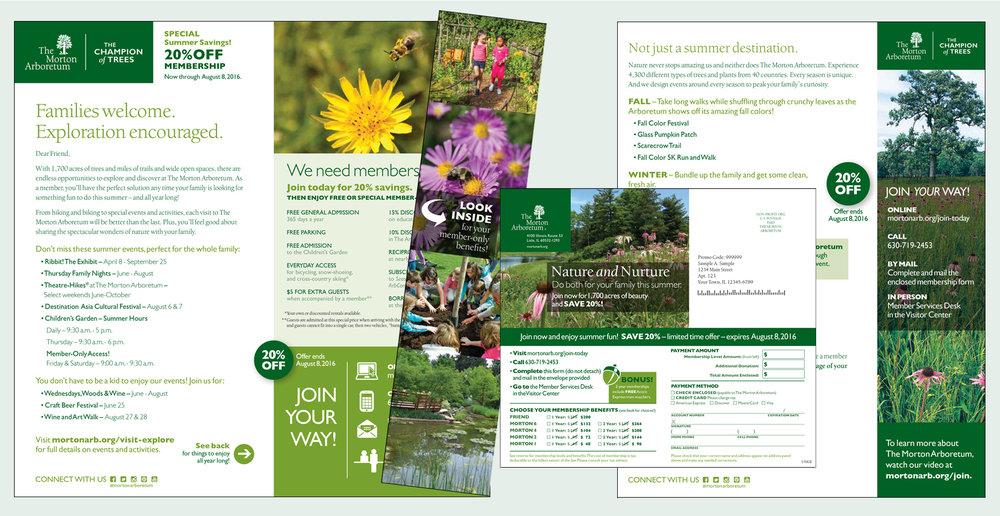 DIRECT MAIL: Morton Arboretum