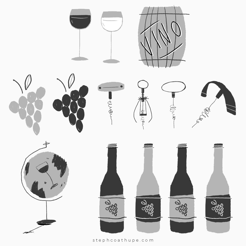 Spot Illustrations Wine by Steph Coathupe.jpg