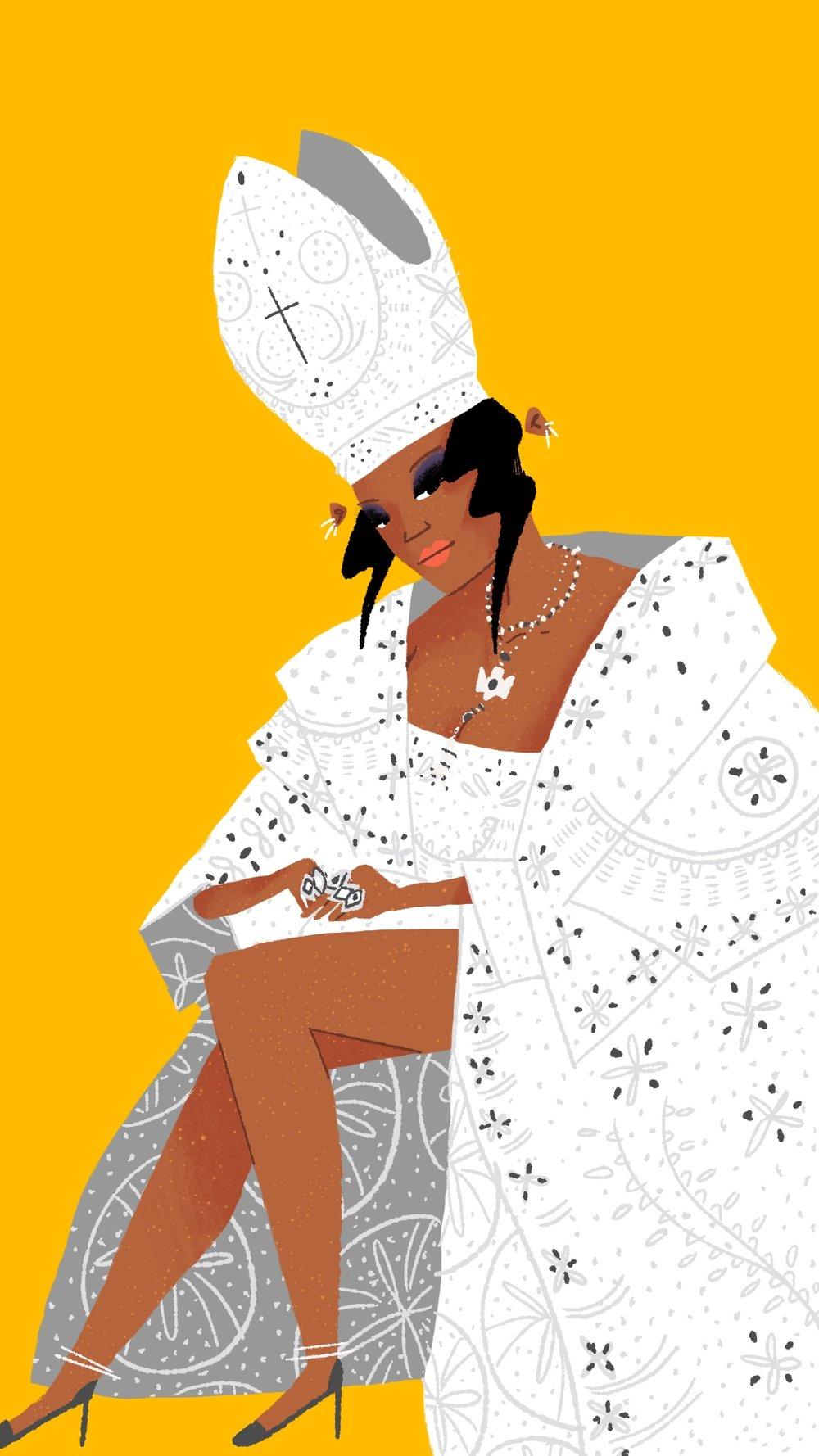 Pope Rihanna by Steph Coathupe