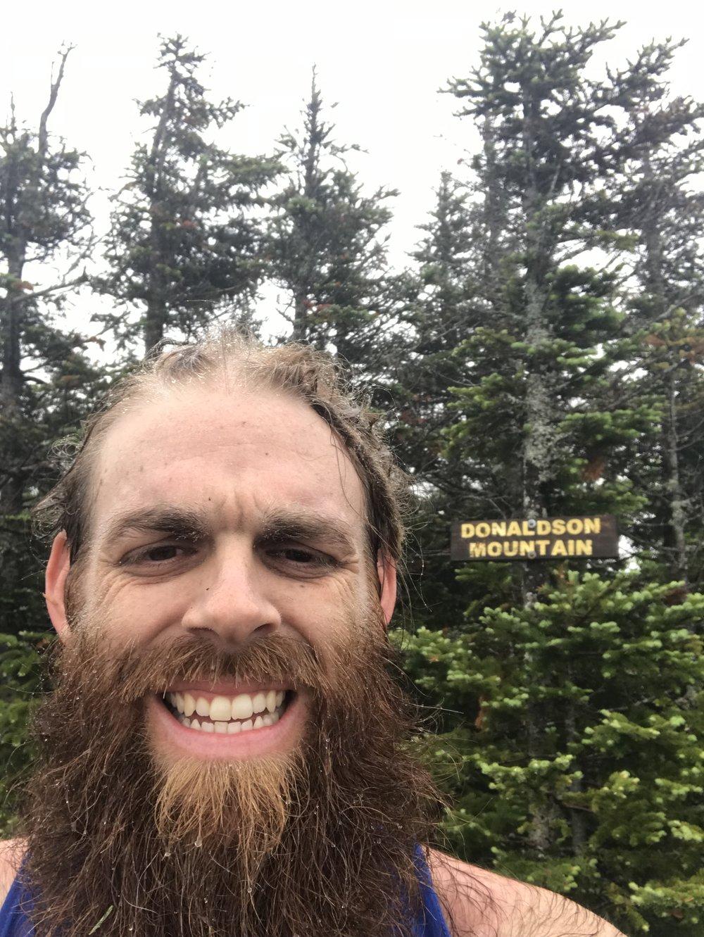 First Peak of the Thru Hike