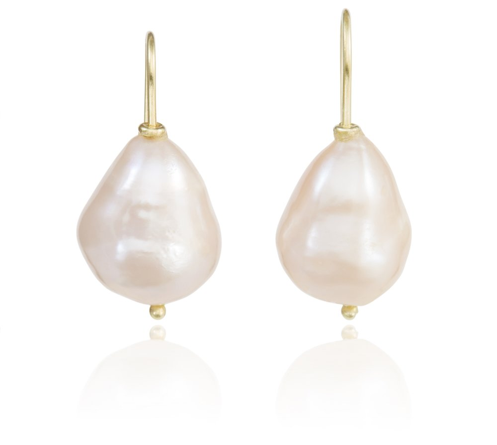 Mary Peach Earrings