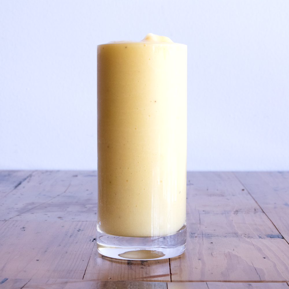 Mango - Mango + Banana + Honey + Milk or Apple Juice