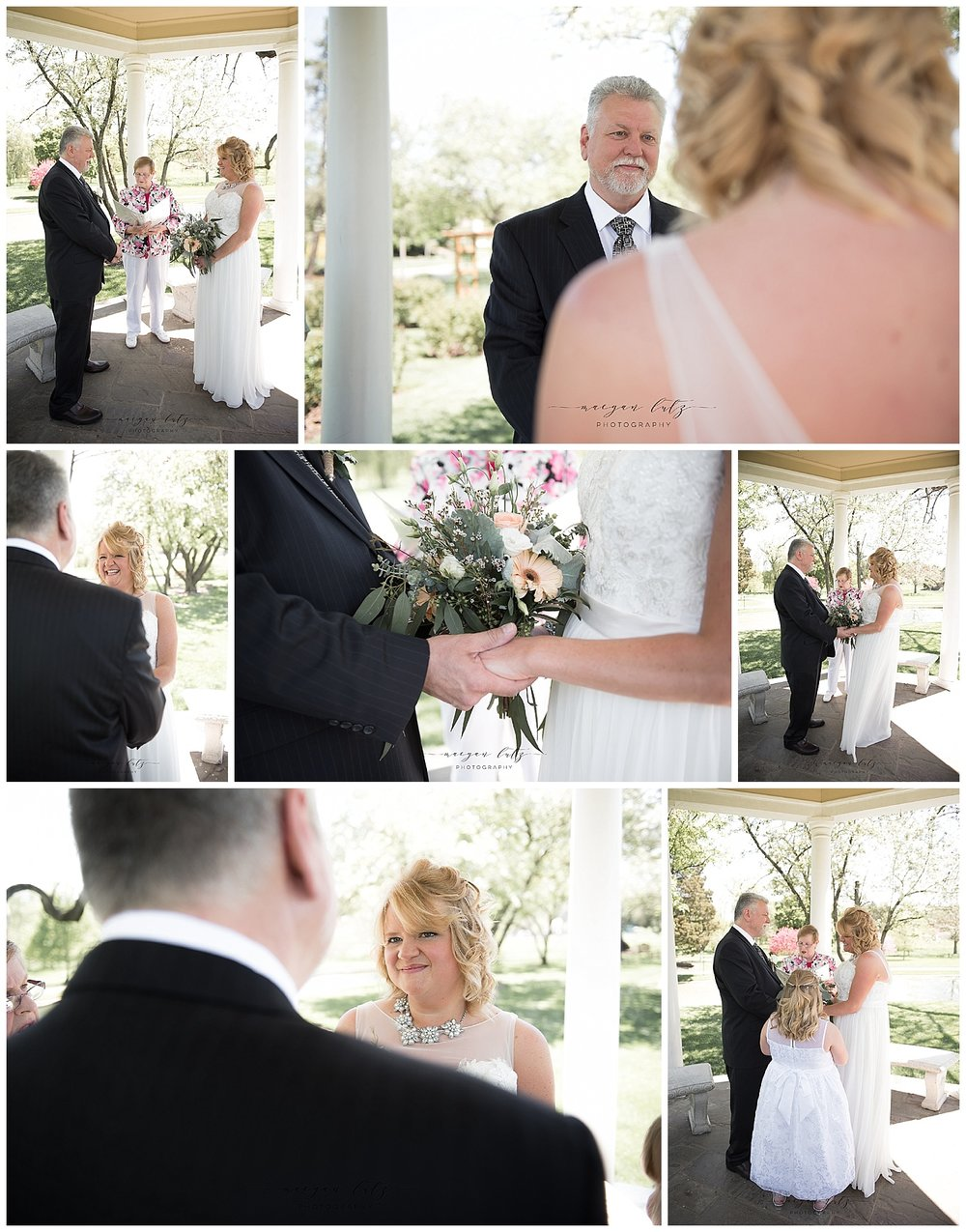 Wedding Photographer in Allentown PA at the Rose Garden