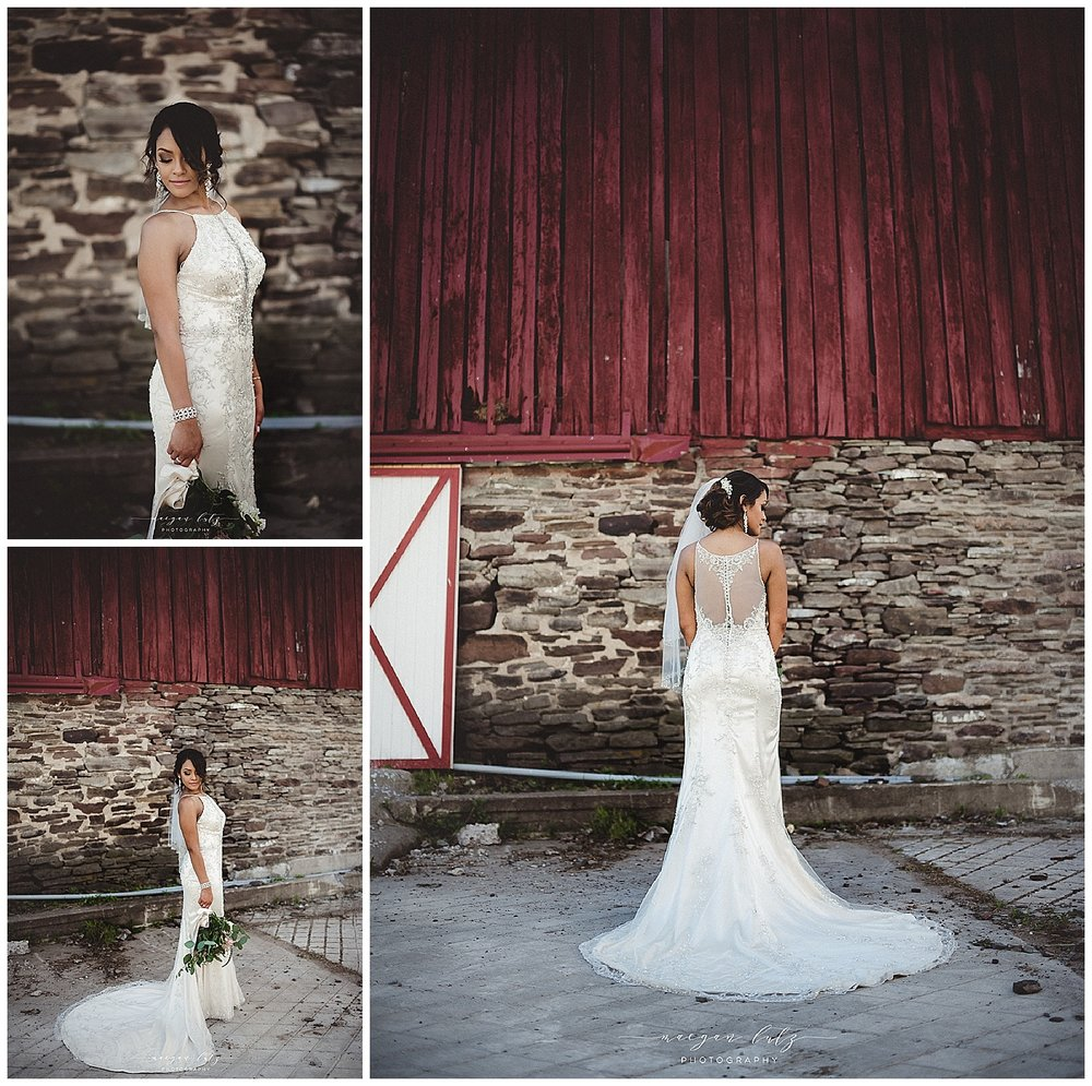 Lewisburg Photographer at Outdoor rustic Wedding at the Barn at Glistening Pond, Falls PA