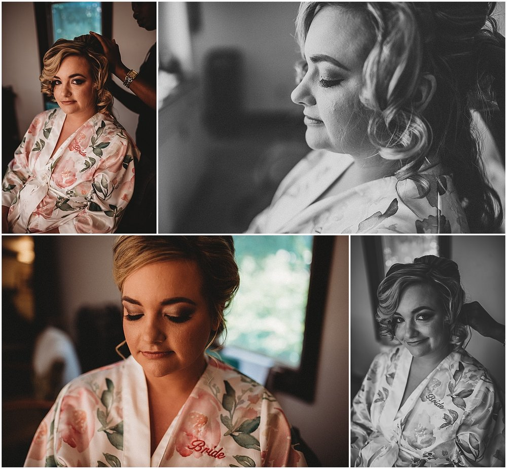 Bridal prep at Sandals South Coast Jamaica Wedding Photographer