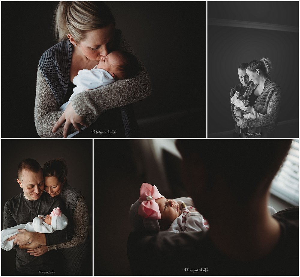Lifestyle Newborn Session by Newborn photographer in Mountain Top NEPA