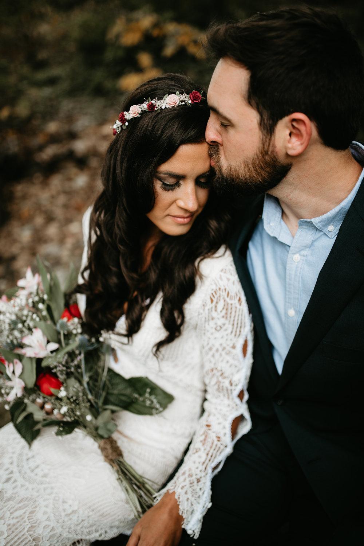 Boho backyard outdoor wedding in Scranton PA by Wedding photographer in NEPA