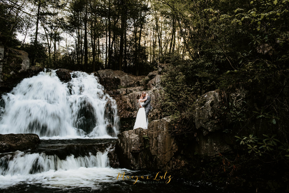 Mr. & Mrs. Krum - Hawk Falls Elopement