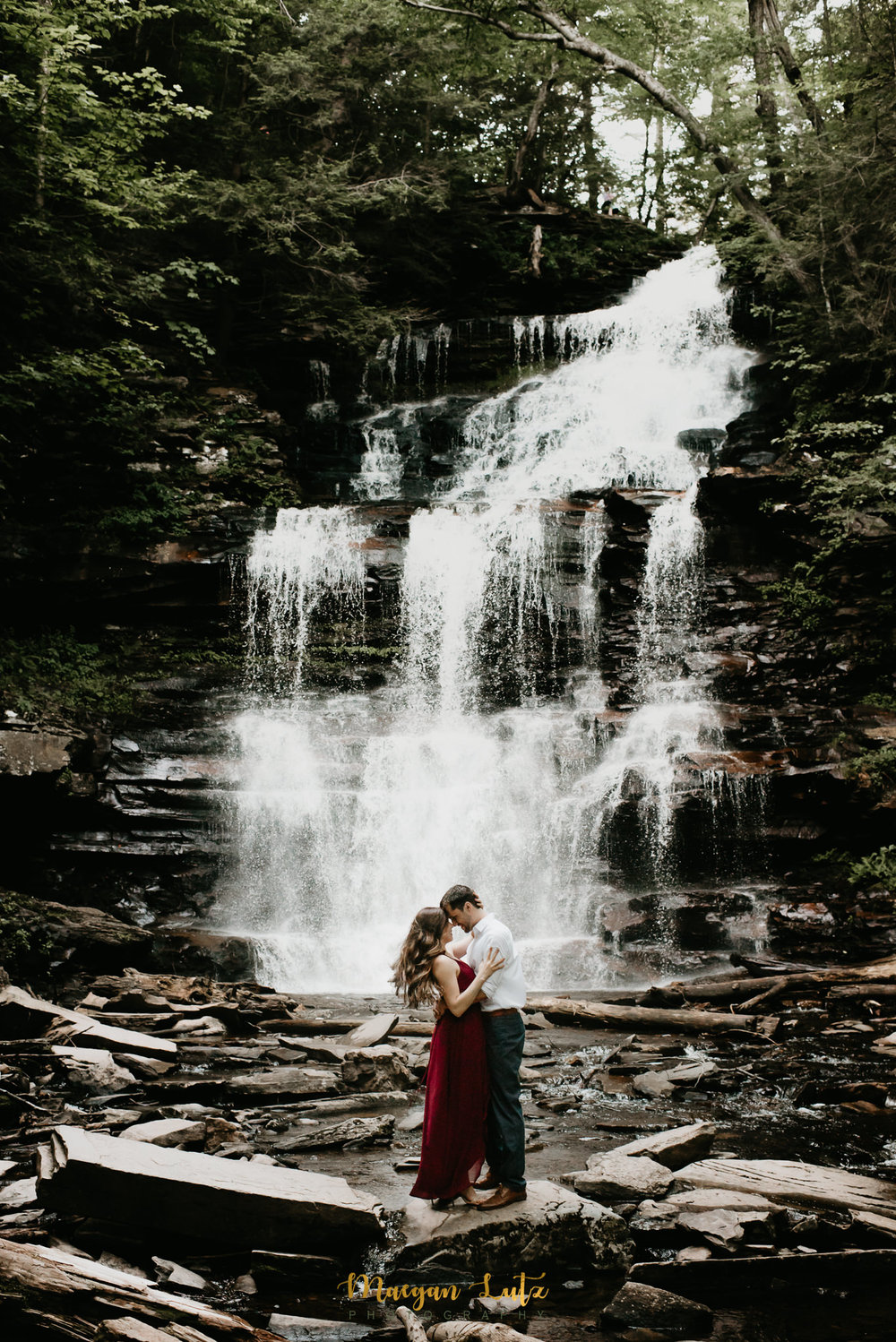 NEPA-Engagement-Wedding-Photographer-Session-at-Ricketts-Glen-State-Park-20.jpg