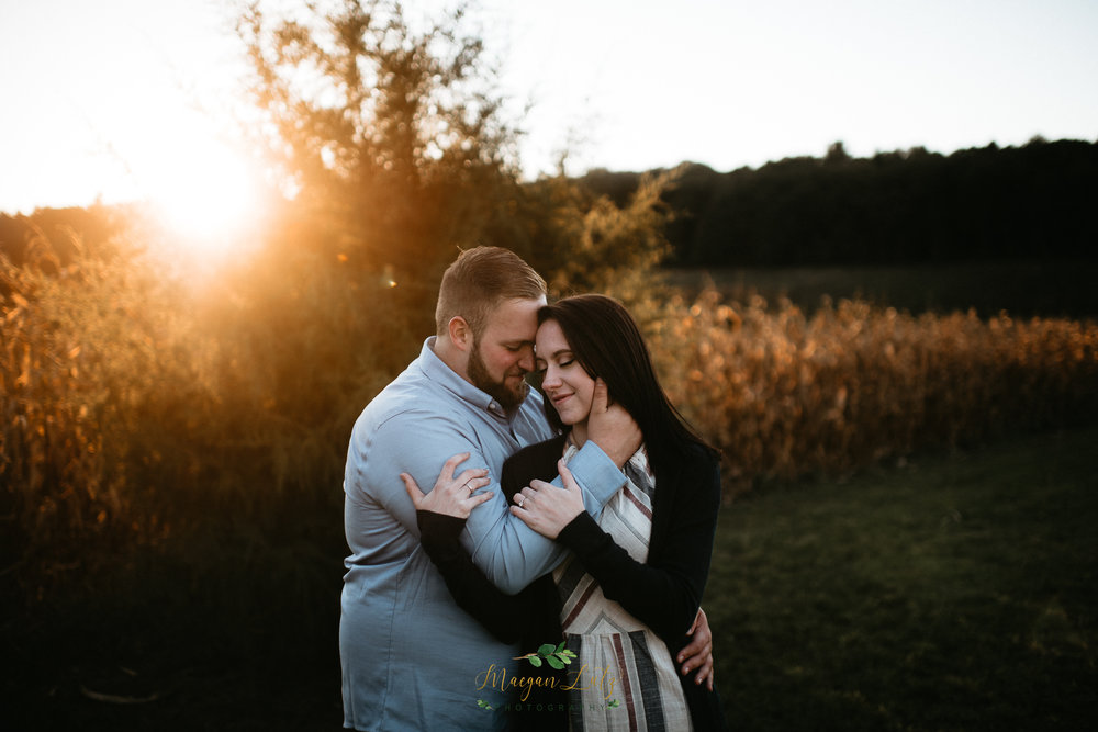 Engagement session at Blue Ridge Estate Vineyard & Winery