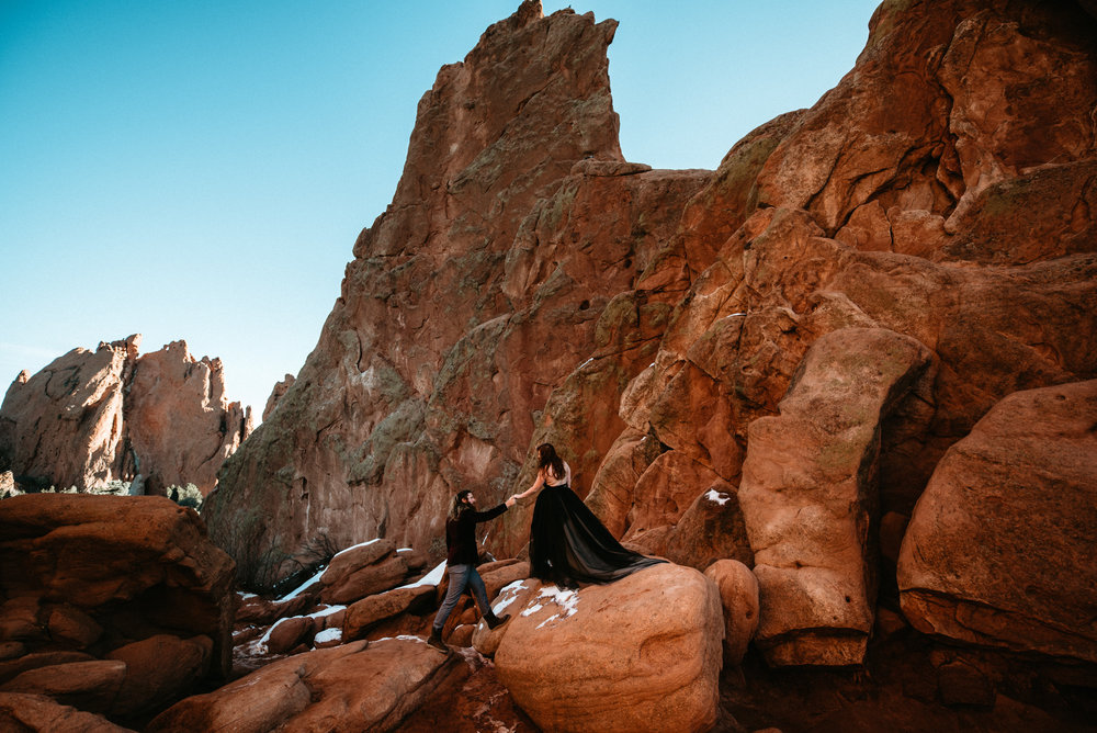 Artemis + Justin - Garden of the Gods