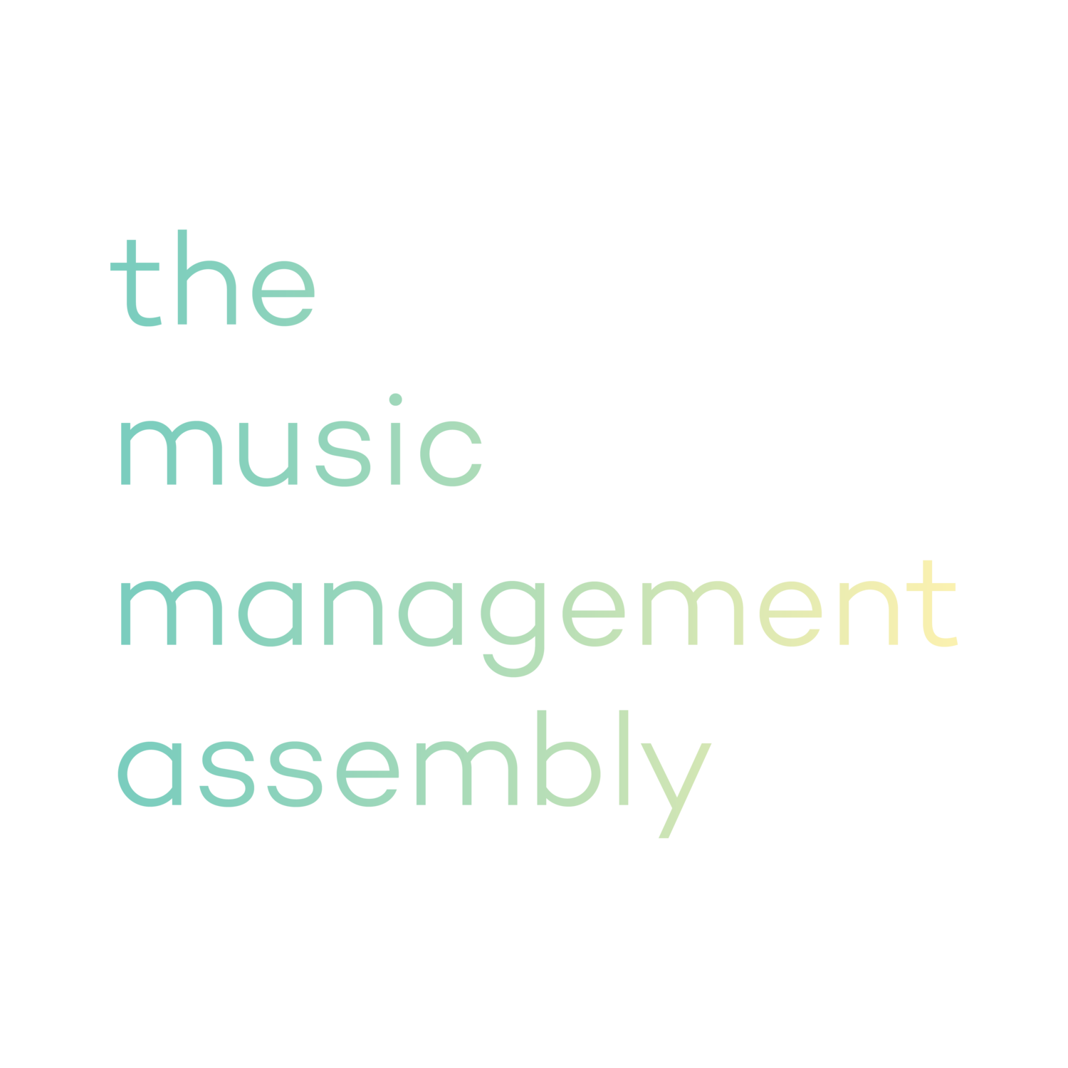 the music management assembly