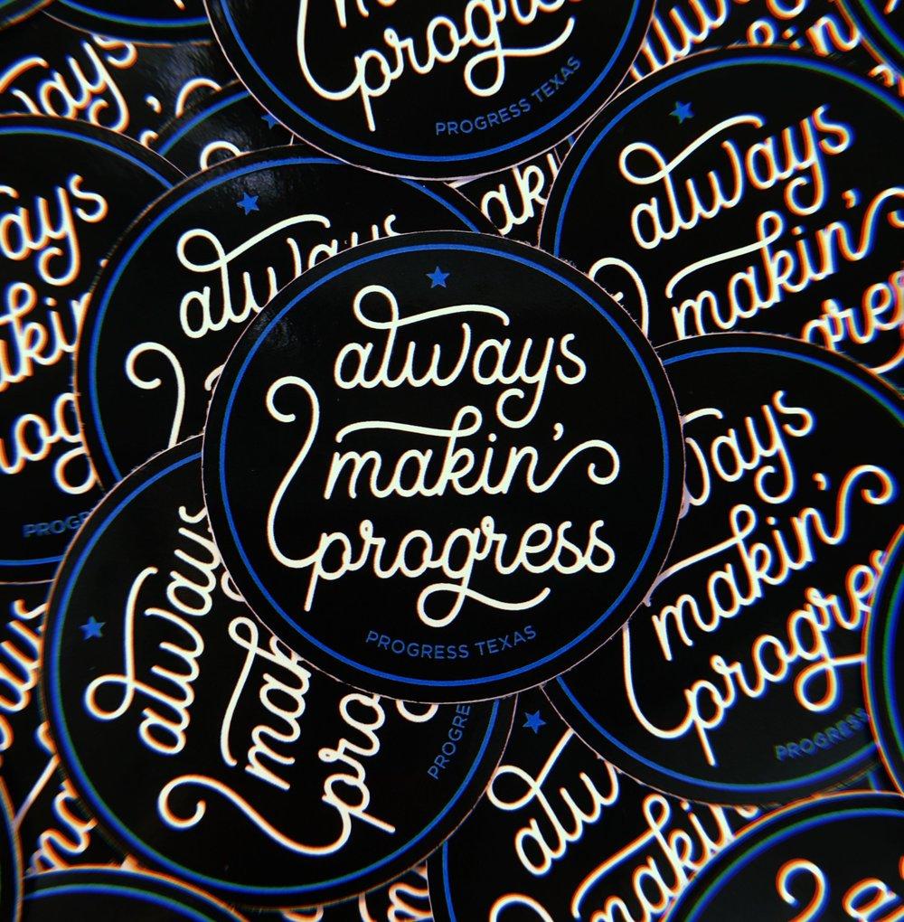 AlwaysMakinProgress_Sticker.jpg