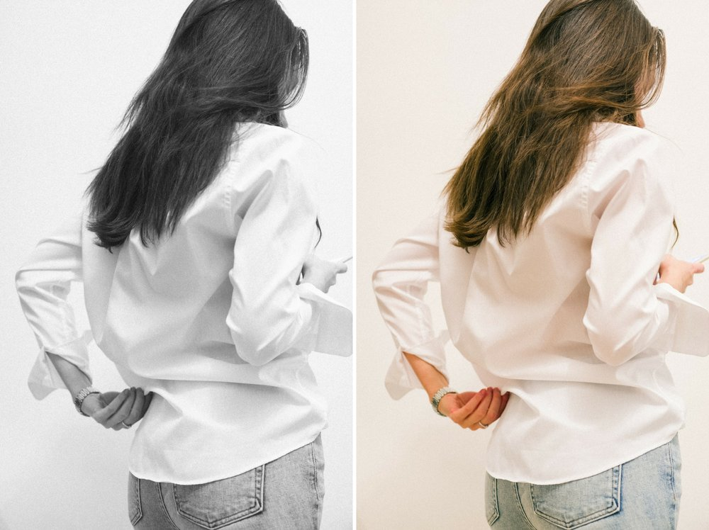 How to slow down the fashion industry - Oversized boyfriend shirt